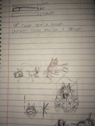Segunda ideia. Aqui temos o maravilho concept art do protagonista do jogo!